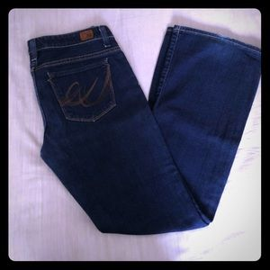 EXPRESS X2 flared jeans